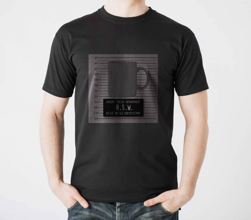 Mug Shot Tshirt Design