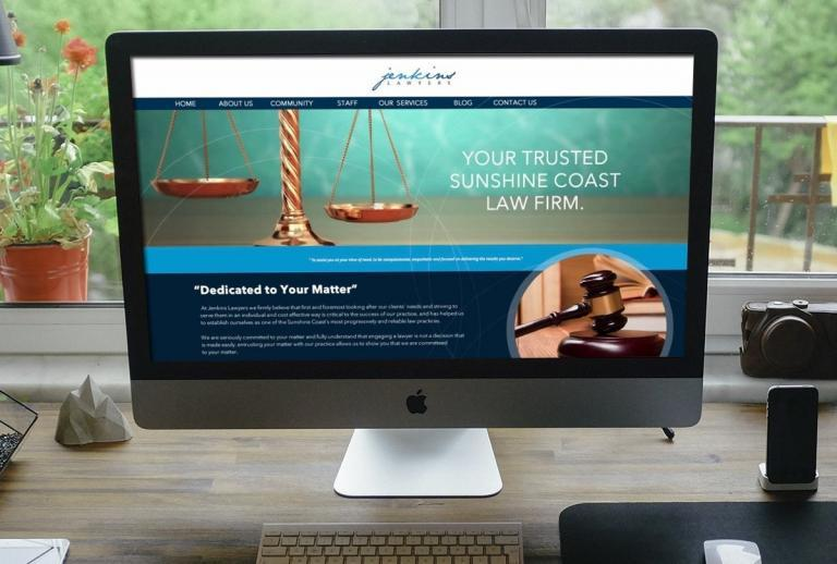 Noosaville Lawyer website design services