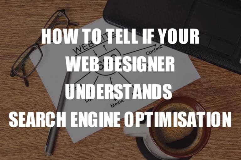 Does your local web designer really understand SEO?