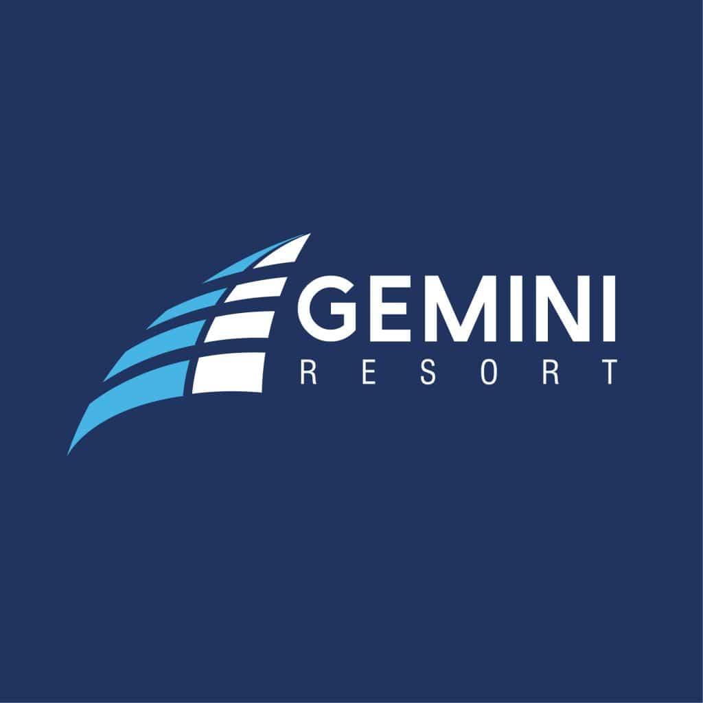 Gemini Resort Logo Design