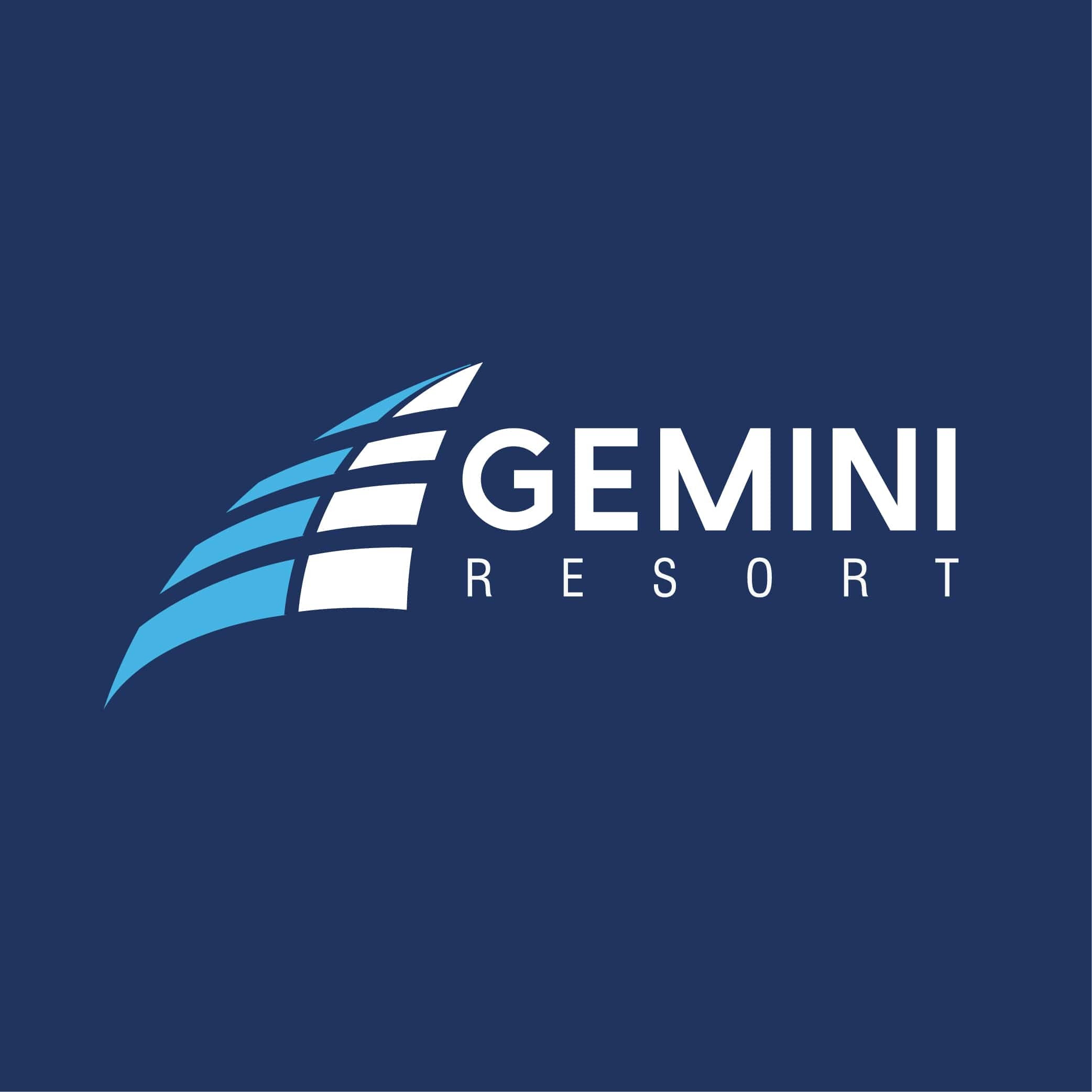 Gemini Resort Logo Design