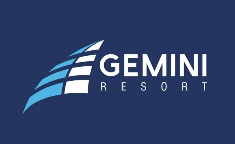 Gemini Caloundra resort logo design