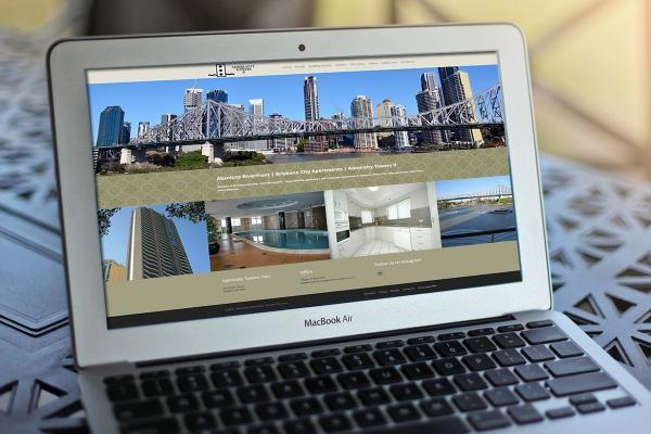 Brisbane Apartments Web Design