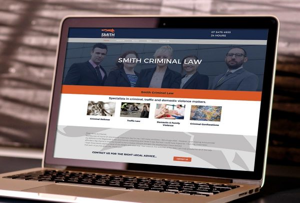 Sunshine Coast legal website design services