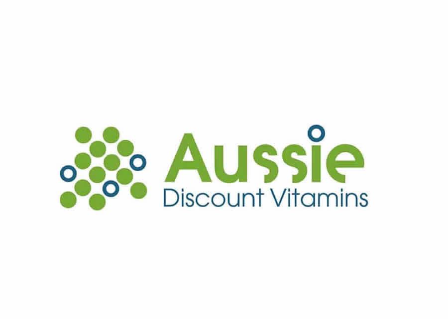 Aussie Discount Vitamins Logo created by Smartfish.