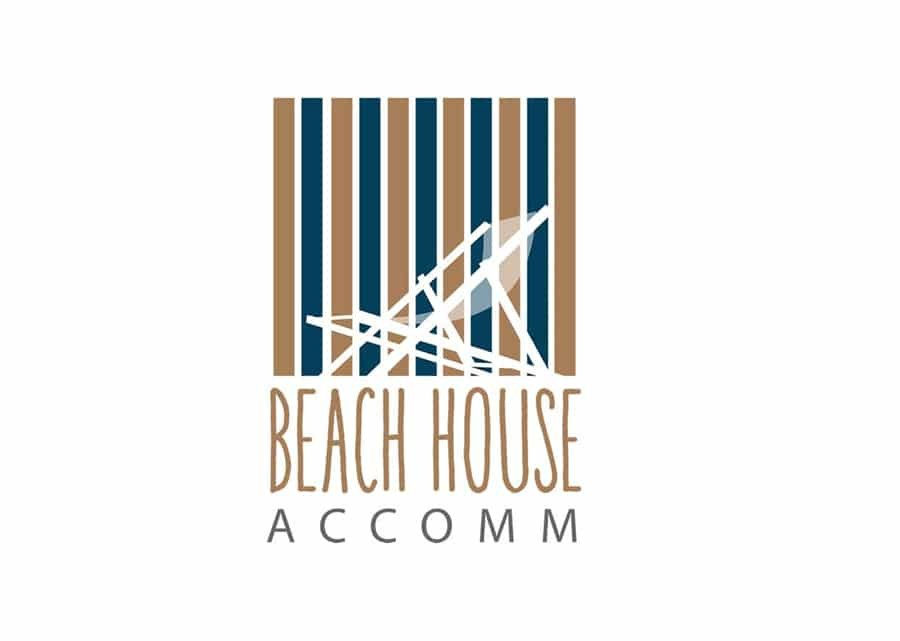 Holiday accommodation logo design Sunshine Coast