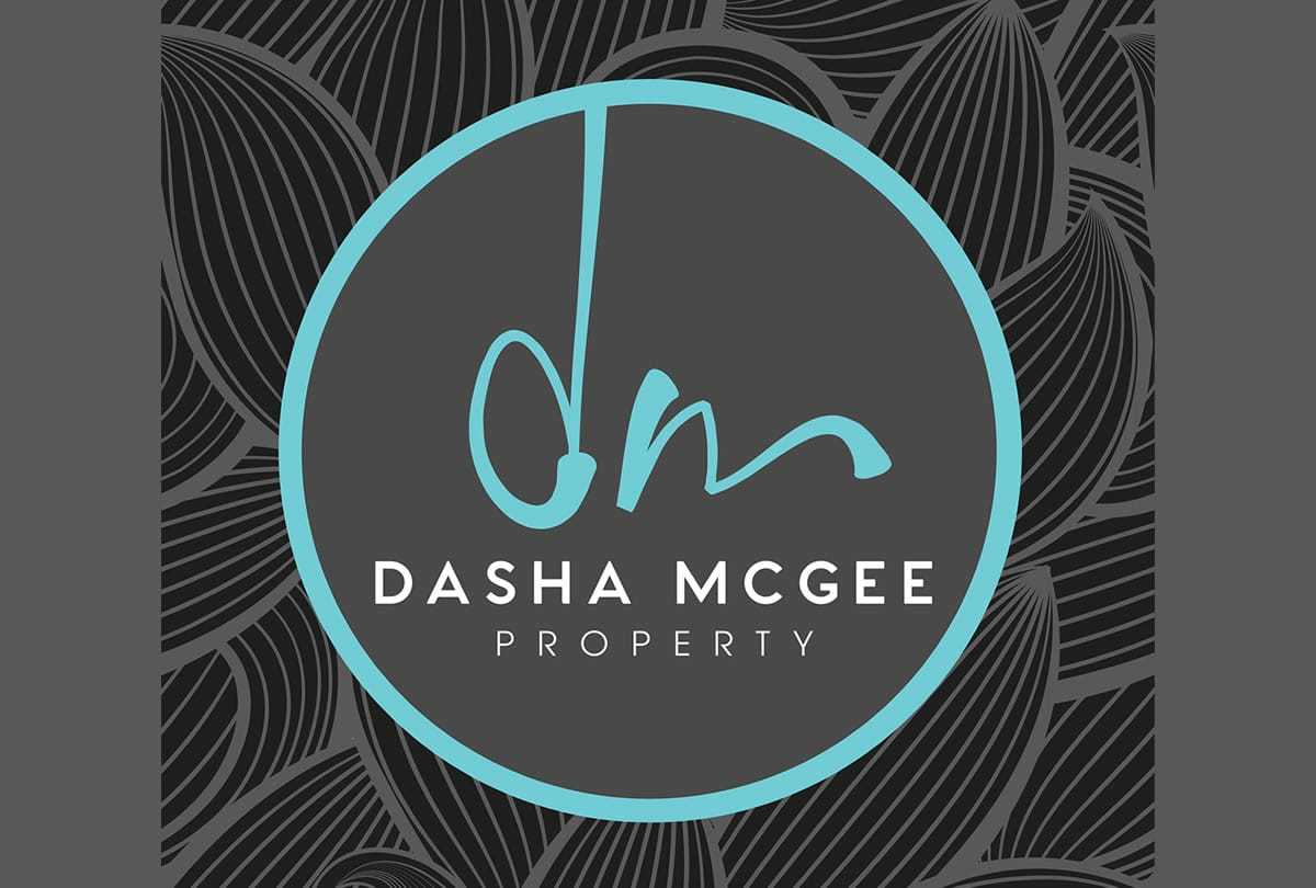 Dasha McGee Property Real Estate Logo Design