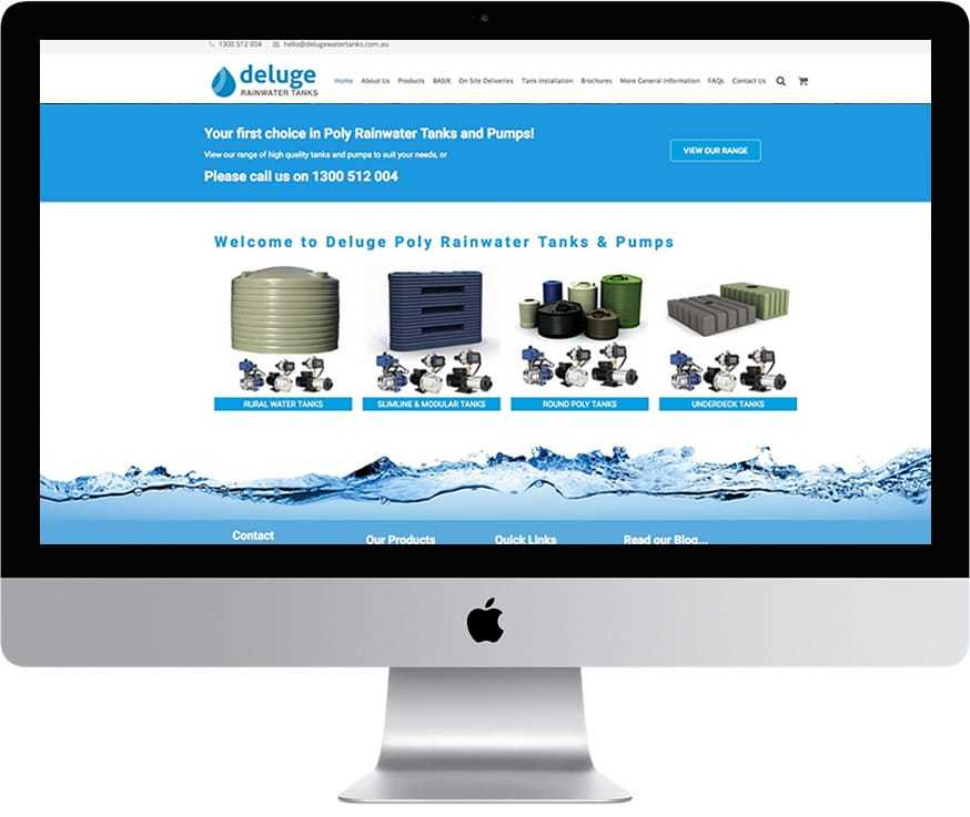 Deluge Rainwater Tanks Australia