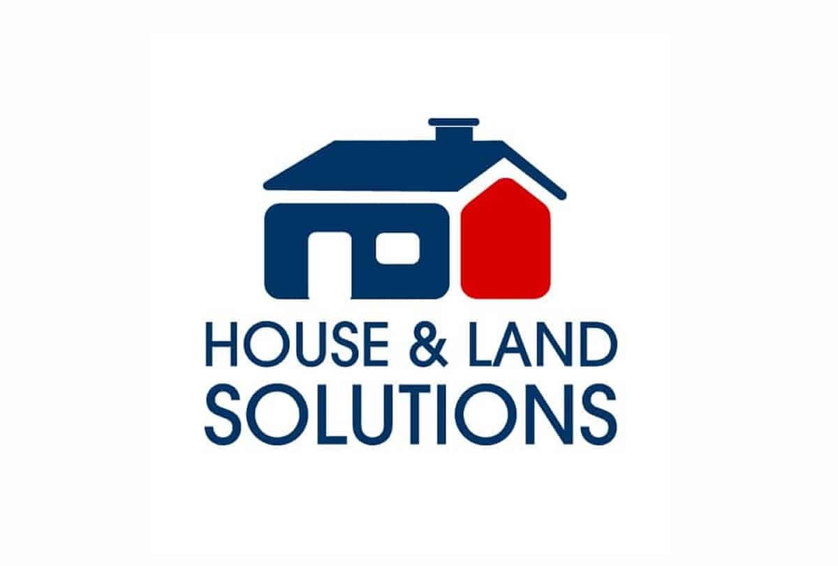 House & Land Property Solutions Logo Design