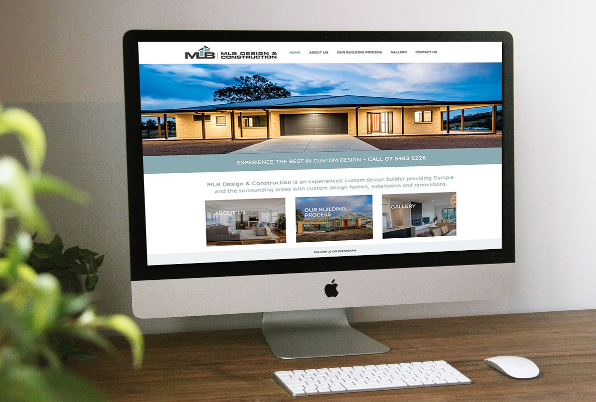MLB Sunshine Coast Builder website design