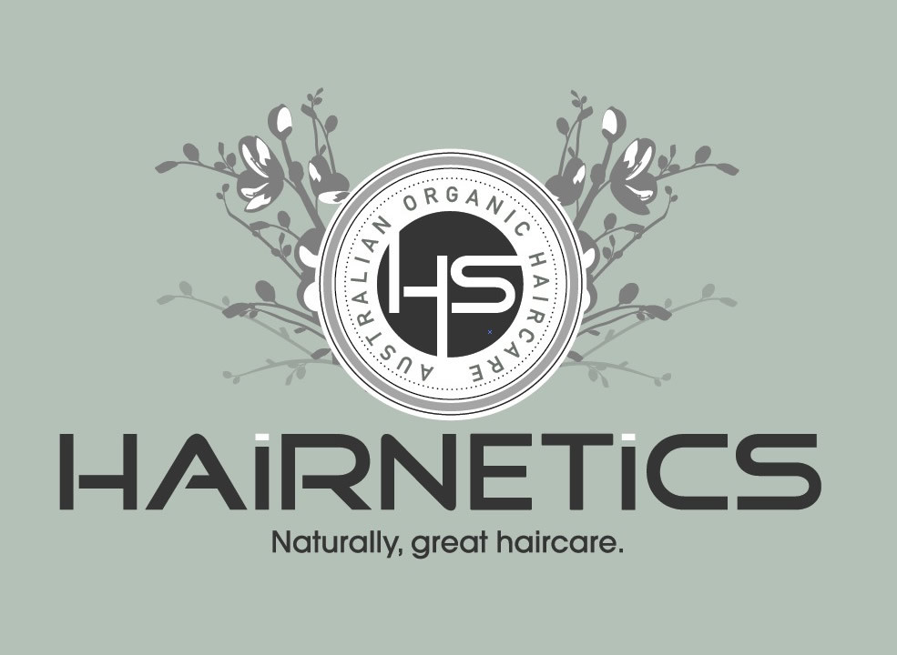 Organic Haircare Logo design Sunshine Coast and Australia wide