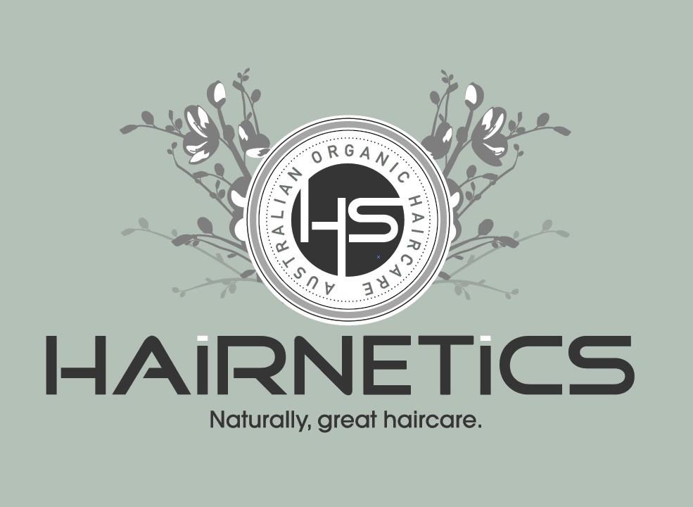 Organic Haircare Logo design Sunshine Coast and Australia wide