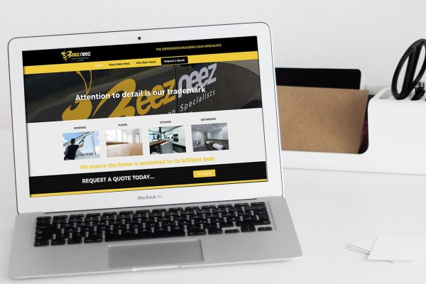 Builders Cleans website design services Australia