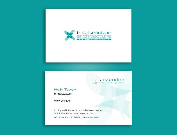 Architecture business cards design and printing