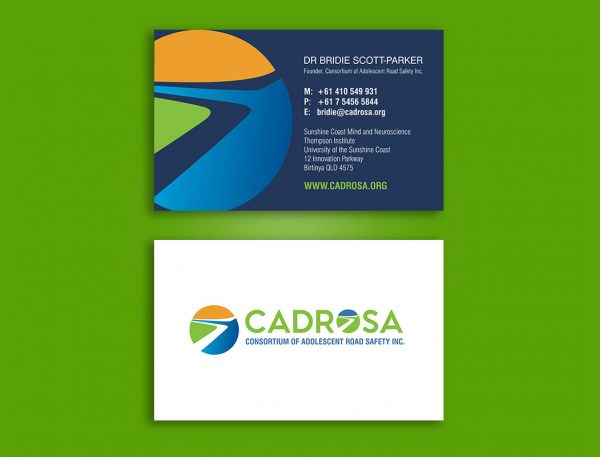 Driver education business cards design and print