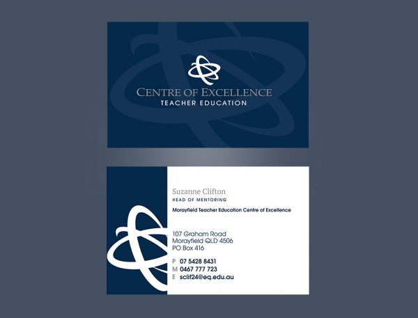 Education Centre business Cards design and print