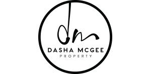 Dasha McGee Sydney property agent logo design