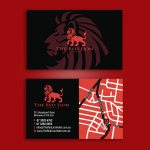 Red Lion Moorooka Hotel Business Cards
