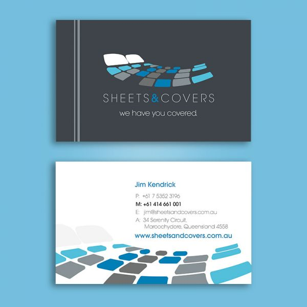 Bed Linen and Manchester business card printing