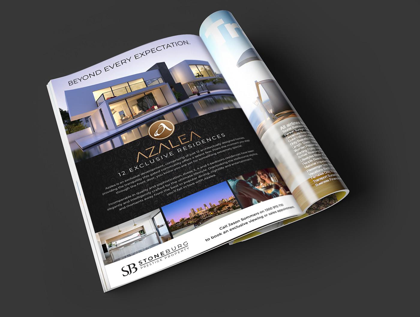 Melbourne real estate Advertising Design