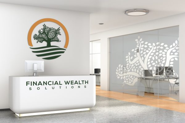 Financial Wealth Signage Design