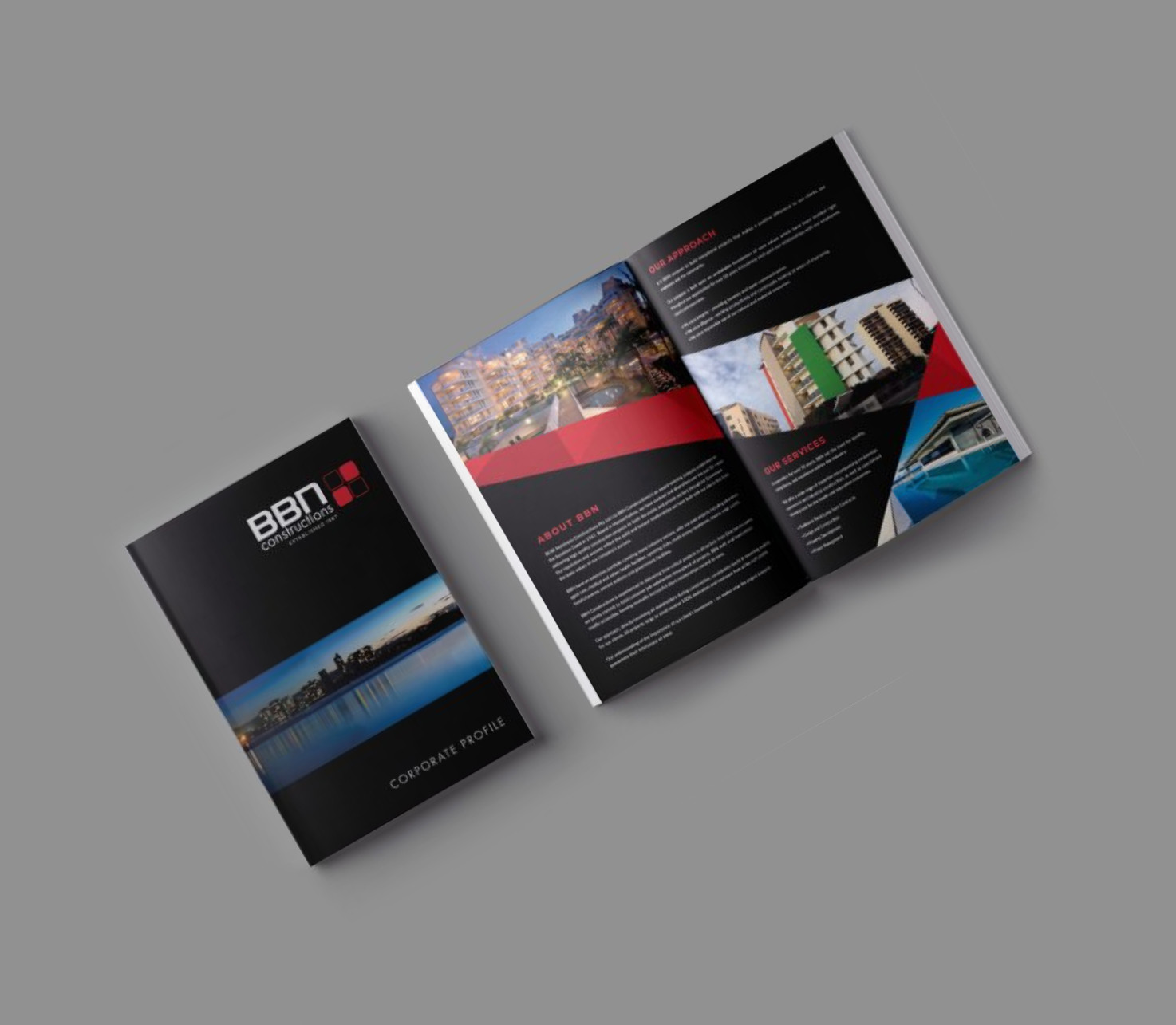 Brochure and corporate profile Printing Services Sunshine Coast