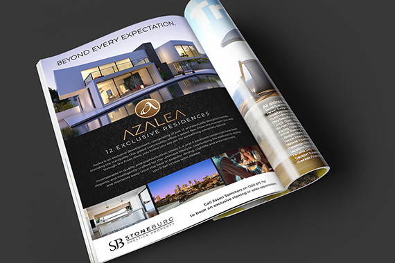 Real estate Press Advertising Design