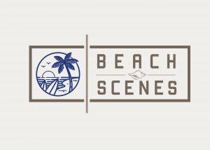 Beach Scenes online store logo design and website development